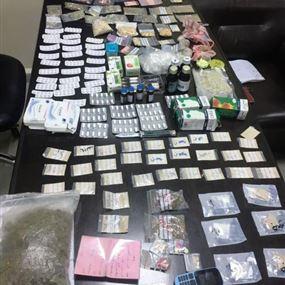 من فرن الشباك الى النبعة.. توقيف مروجي مخدرات وضبط كمية منها