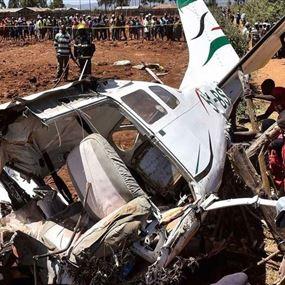 فاجعة جديدة.. مقتل اللبنانية سينتيا وابنها بتحطّم طائرة (صور وفيديو)