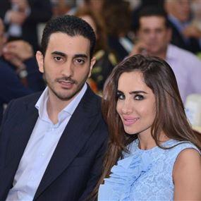 نجاة جاد صوايا وزوجته داليا من حادث سير مروّع