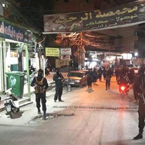 اشتباكات عنيفة في مخيّم البداوي وسقوط جريحين (فيديو)