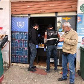 جولة لامن الدولة في قرى وبلدات العرقوب وحاصبيا
