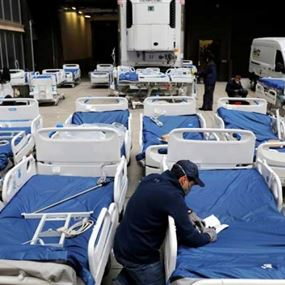 ٣ مستشفيات ميدانية تصل غدا إلى بيروت