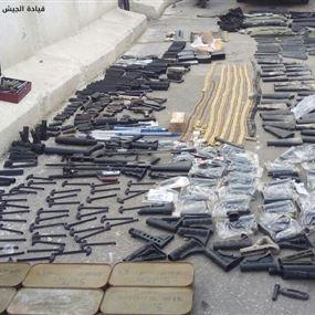 بالصور: مداهمة مخرطة لتصنيع الأسلحة في برج البراجنة