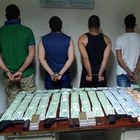 عصابة سرقت مبلغاً كبيراً من المال وخبّأته داخل مغارة في العاقورة...