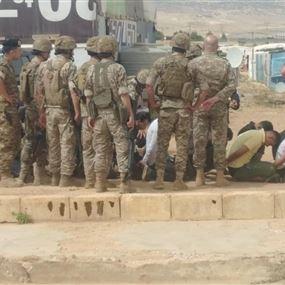 بعد الإعتداء.. ممنوع عودة النازحين إلى مخيم دير الأحمر