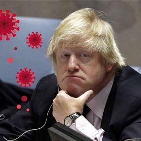 إصابة رئيس وزراء بريطانيا بوريس جونسون بفيروس كورونا