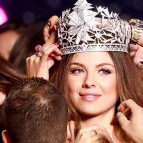 شاهدوا سيارة ملكة جمال لبنان الجديدة