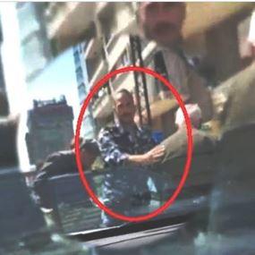 شاهدوا ما فعله ضابط من قوى الأمن في سن الفيل