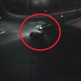 فيديو مروّع لحادث سير في سن الفيل