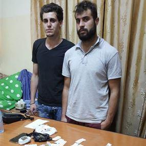 نادر واحمد يروجان المخدرات في المخيم