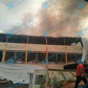 بالصور والفيديو: حريق داخل نادي سكيلز في بصاليم.. ماذا جرى؟