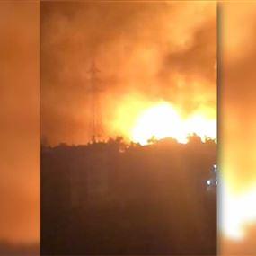 بالفيديو: انفجر عامود التوتر العالي.. فكانت المفاجأة!