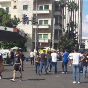 بائع قهوة متجول مشتبه به في محيط ساحة الاعتصام