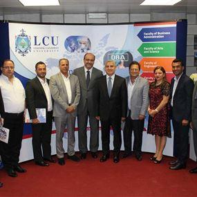 منح وتقديمات من جامعة LCU الى بلدية غزير