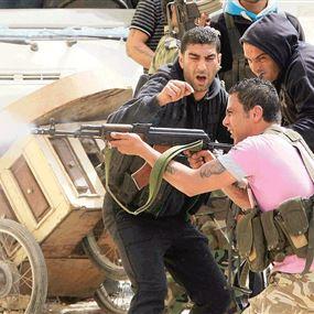 اشتباك مسلّح بسبب اشكال بين الأطفال!