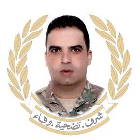 قيادة الجيش تنعي الرقيب دياب حلوم بعد استشهاده في بعلبك