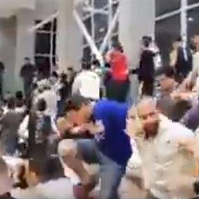 بالفيديو: اشكال خلال مباراة بين جامعتي USEK وNDU