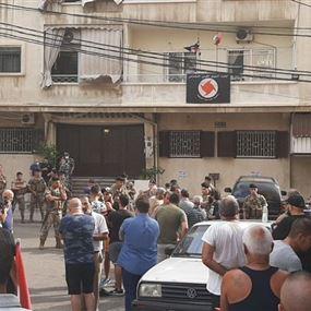 اشكال امام مكتب القومي في الجديدة والجيش يتدخل
