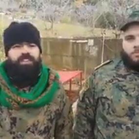 بالفيديو: بعد الخزعلي.. عناصر عراقية وأفغانية في جنوب لبنان