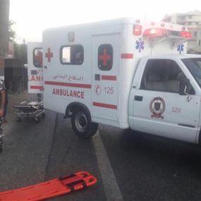 بالصور.. قتيل نتيجة حادث صدم في جبيل