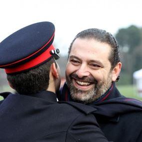 بالصور.. الحريري: أنا اليوم فخور بعملي كأب