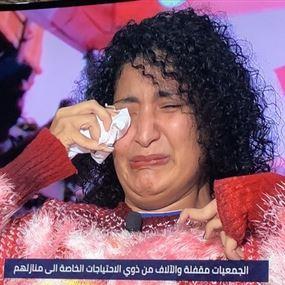 عم تبكي لأن حققت حلمها... شو حلمها؟