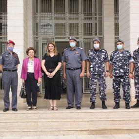 نجم خلال زيارة تفقدية لمحكمة سجن رومية: للاسراع في اصدار الاحكام