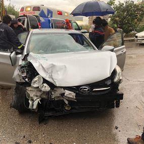 جريحة جراء حادث سير على الطريق البحري في الكسليك