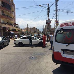 جرحى نتيجة حادث سير في طرابلس