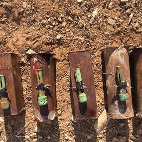 الجيش يضبط خمس عبوات ناسفة معدة للتفجير في جرود القاع