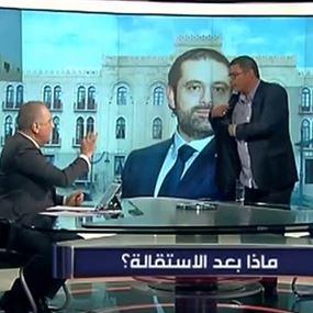 بالفيديو: وليد عبود يطرد حبيب فياض على الهواء