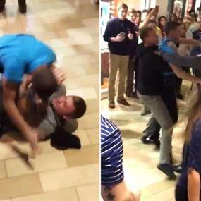 بالفيديو.. ضرب وشتائم في الـBlack Friday