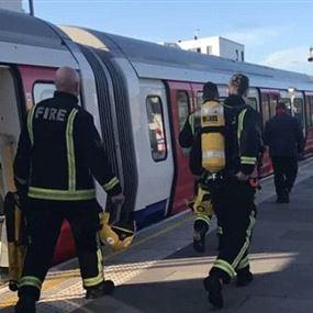 22 جريحا بانفجار مترو لندن وداعش يتبنى