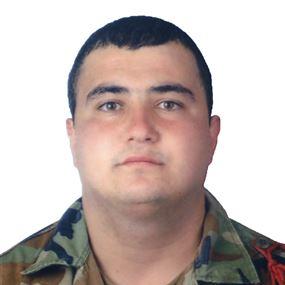 الجيش ينعي العريف الشهيد شادي القسيس