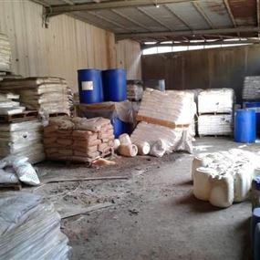 توصية برفع حوالي ٣٩٧٤ كلغ مواد خطيرة موجودة في معمل الزوق