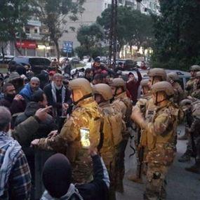 إصابة 81 عسكرياً خلال تنفيذ مهمات حفظ الأمن وتوقيف 20 شخصاً