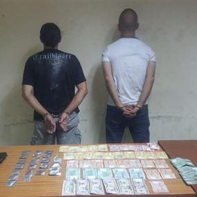 بالصورة: يروجان المخدرات في المتن لصالح الخال