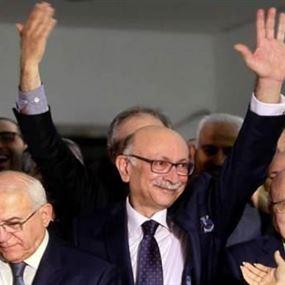 فوز المحامي اندريه الشدياق بمركز نقيب المحامين في بيروت