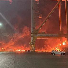 دوي صوت انفجار كبير في دبي