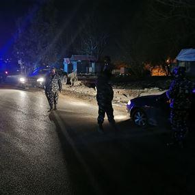 قوى الأمن تطلب استمرار التزام المواطنين منازلهم وتُحذّر...