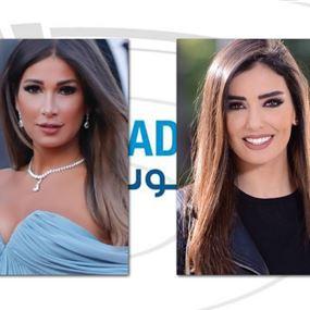 حرب كلامية بين ديما صادق وجيسيكا عازار بسبب