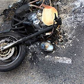 حادث سير مروع أدى إلى مقتله!