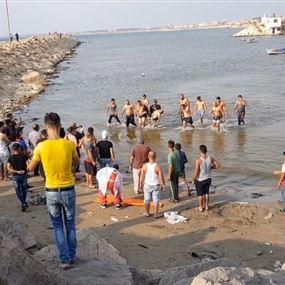 انتشال جثة شاب مجهول الهوية على شاطئ العبدة
