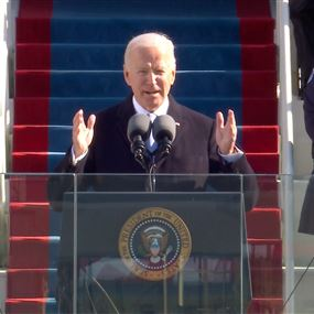 الرئيس بايدن يلقي خطابا تاريخيا.. وهذه وعوده منذ اليوم الأول