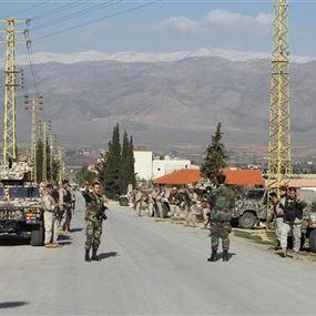 إرهابي شارك بالهجوم واطلاق النار على أحد حواجز الجيش