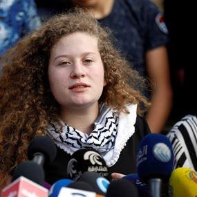 بالصور.. عهد التميمي تتعرض لحادث سير مع والديها في رام الله