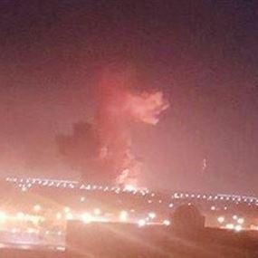 بالفيديو والصور: انفجار ضخم يهزّ محيط مطار القاهرة