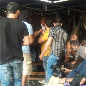 مشادة كلامية في خيمة اهالي العسكريين.. بسبب نائب في البرلمان