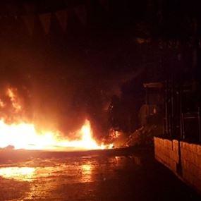 بالصور: تصريحات باسيل تؤجّج الاحتجاجات في عين الحلوة