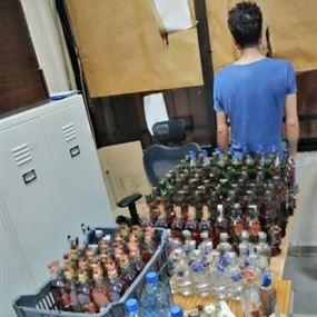 احتال على مزوّر مشروبات كحولية فوقعا معا في قبضة الشرطة!